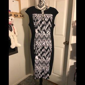 Dress barn cap sleeve sheath dress Size 16